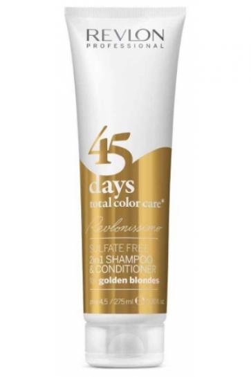 Revlon 2in1 Shampoo & Conditioner for Golden Blondes 275 ml