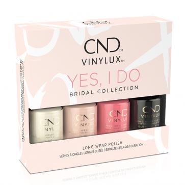 CND Vinylux Polish Yes I do Set