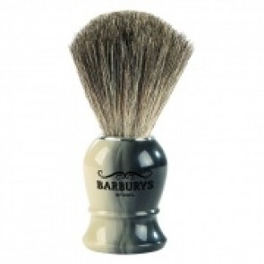 Barburys Grey Shaving Brush Horn