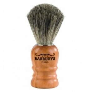 Barburys Grey Shaving Brush Olive