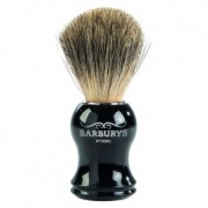 Barburys Grey Shaving Brush Silhouette