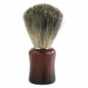 Barburys Grey Shaving Brush Walnut
