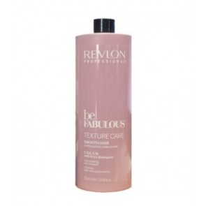 Revlon Be Fabulous Texture Care Smooth Hair C.R.E.A.M. Anti-frizz Shampoo 1000 ml