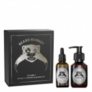 Beard Monkey Gift Set Licorice