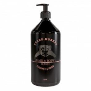 Beard Monkey Hair & Body Bergamot & Amber 1000 ml