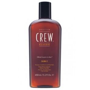 American Crew Classic 3 In 1 Shampoo 450 ml