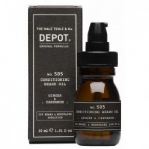 Depot No. 505 Conditioning Beard Oil Ginger & Cardamom 30 ml