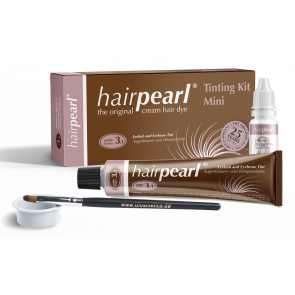Hair Pearl Trial Kit Middle Brown