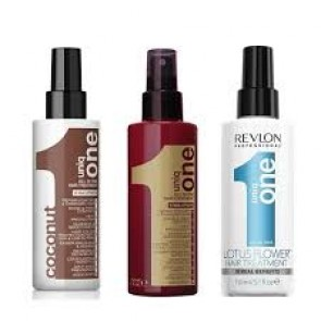 4 x Uniq One Hair Treatment Bland Selv