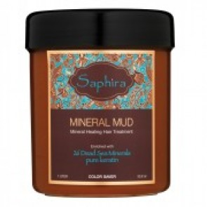 Saphira Mineral Mud Healing Hair Treatment 1000 ml