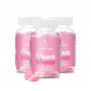 Sweet Bunny Hare - Hair Vitamin 3 X 60 stk