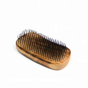 Wet Brush Palm Brush Detangler Burnt Wood